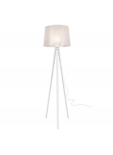 Modelight Modelight Deko Lambader Beyaz Ayak / File Beyaz Şapka Renksiz